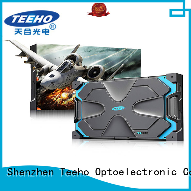 Teeho clear pixel led oem for command and dispatch room
