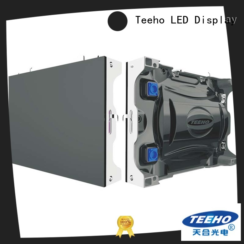 Teeho small pixel pitch led wall for wholesale for command and dispatch room