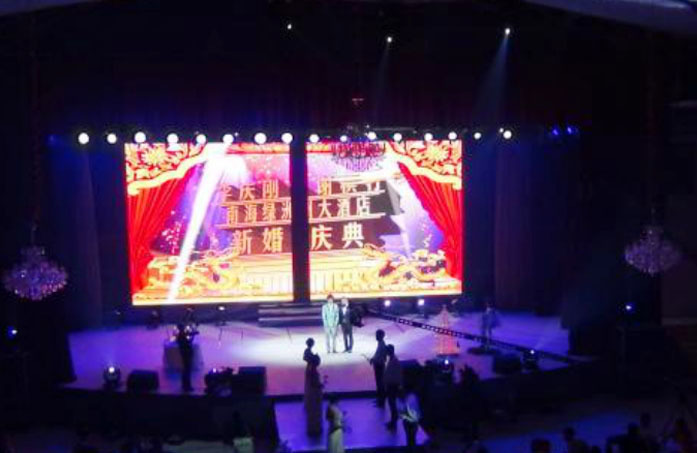 Flexible Led Screen for Background stage