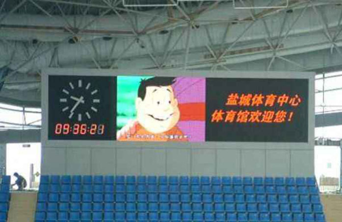 Transparent Led for Sports events