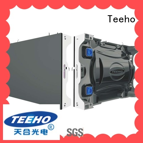 Teeho clear small led display custom for conference meeting