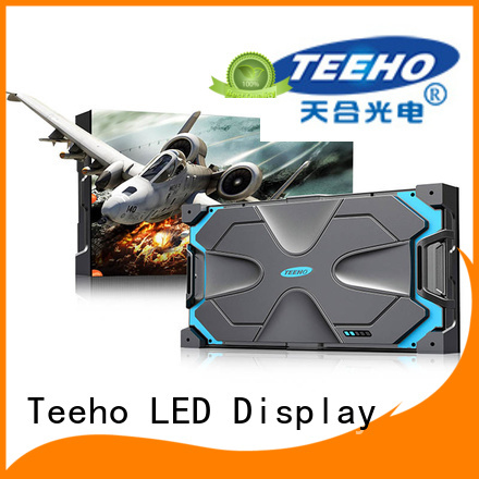 Teeho Small Pixel LED Display oem for monitor room