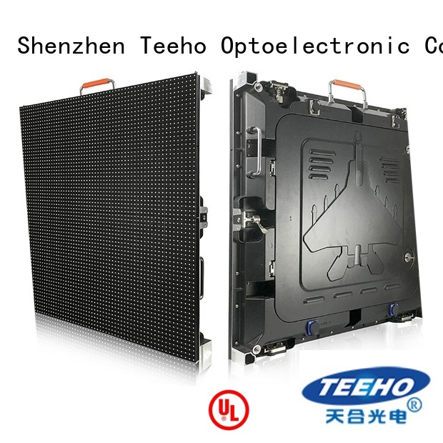 Teeho outdoor fixed led display marketing for downtown shopping mall