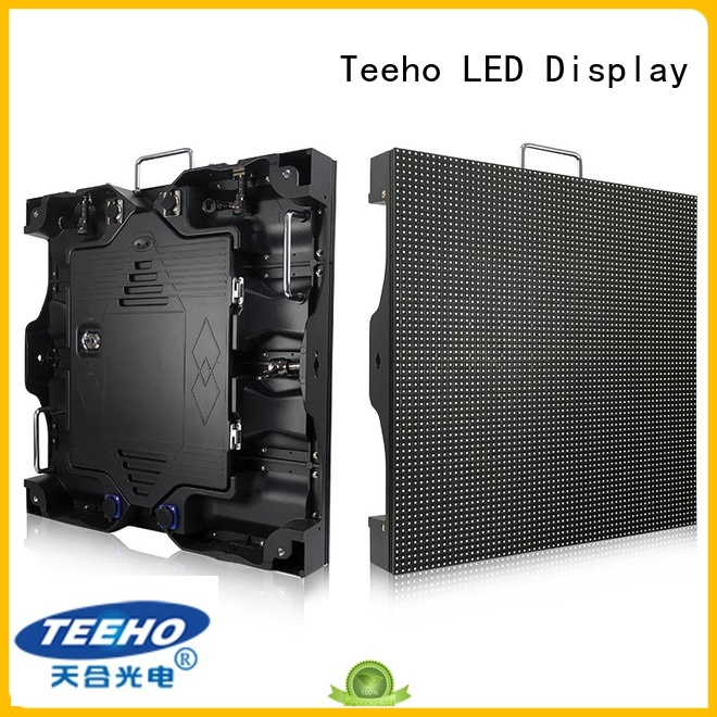 Teeho outdoor fixed led display factory price for downtown shopping mall