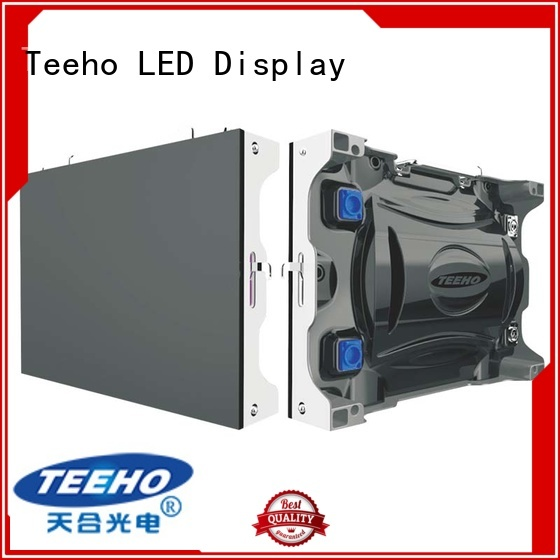 Teeho advanced technology small pixel pitch led wall oem for command and dispatch room