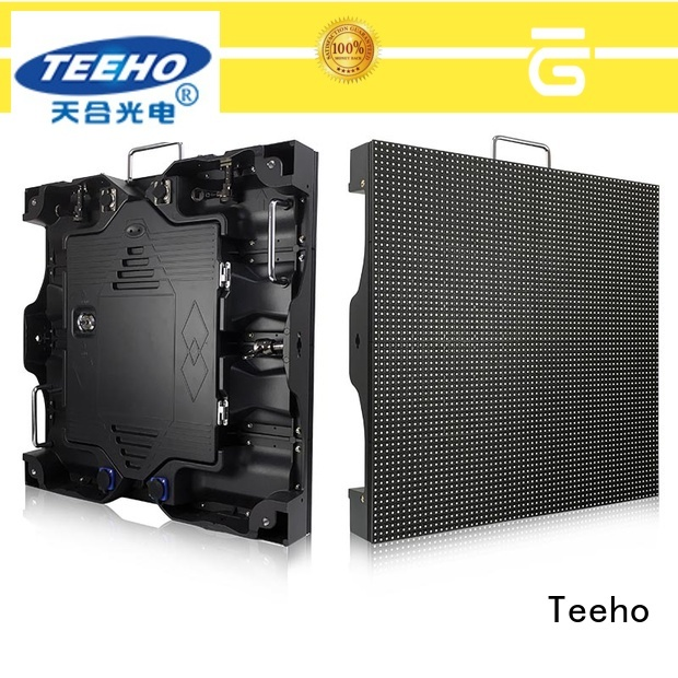 Teeho high quality fixed led screen marketing for roomhotel hall