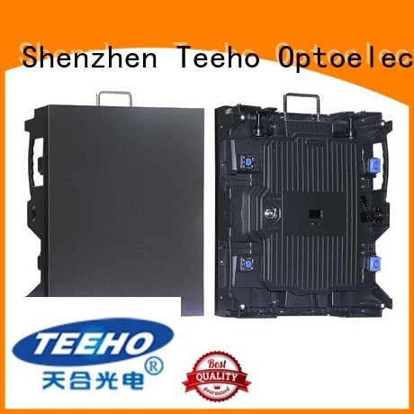 Teeho thin outdoor rental led display by bulk for wedding ceremony
