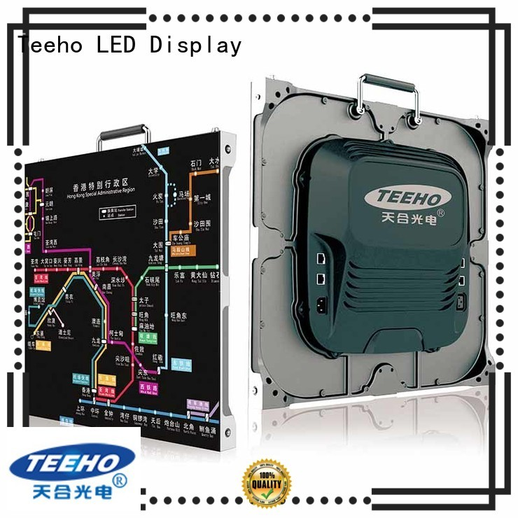 Teeho high quality small pixel pitch led wall for wholesale for conference meeting