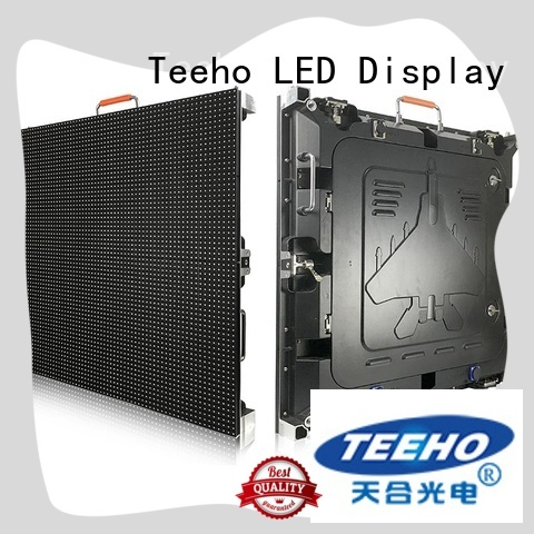 Teeho segment led display factory price for downtown shopping mall