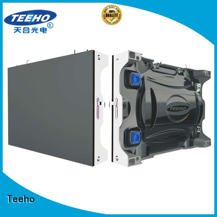 Teeho energy saving Small Pixel LED Display at discount for command and dispatch room