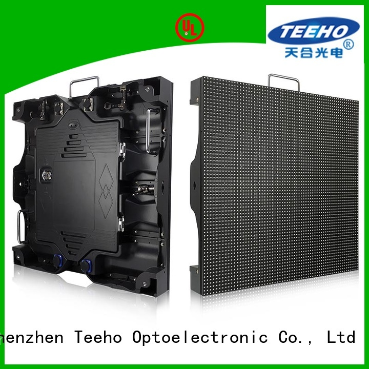Teeho inexpensive fixed led video wall for wholesale for roomhotel hall