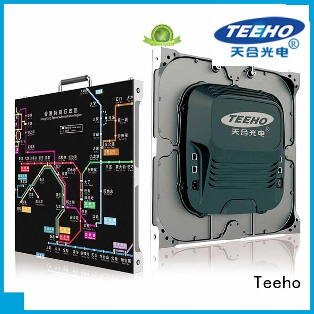 Teeho fashion design small pixel pitch led wall factory price for military control room