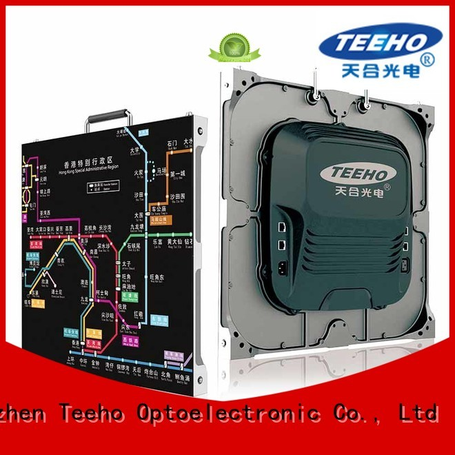 Teeho small pixel pitch led wall at discount for military control room