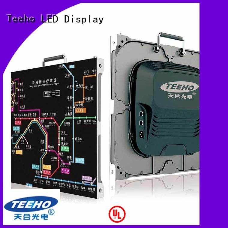 Teeho small pixel pitch led wall oem for airport