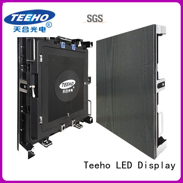 Teeho clear segment led display marketing for transportation sign