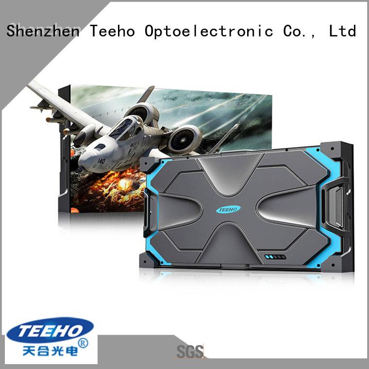 Teeho energy saving small led display odm for military control room