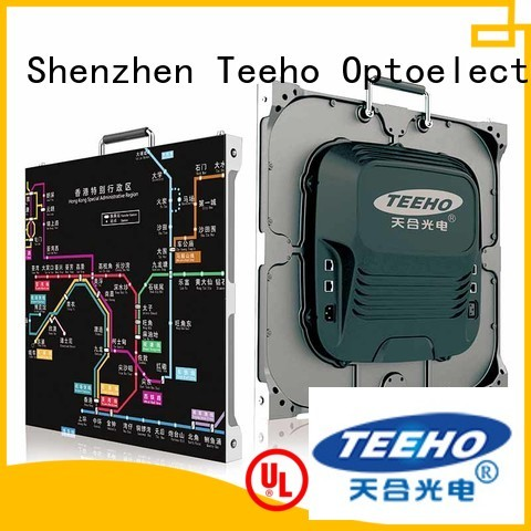 Teeho Small Pixel LED Display free sample for subway