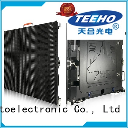 Teeho fixed led screen by bulk for transportation sign