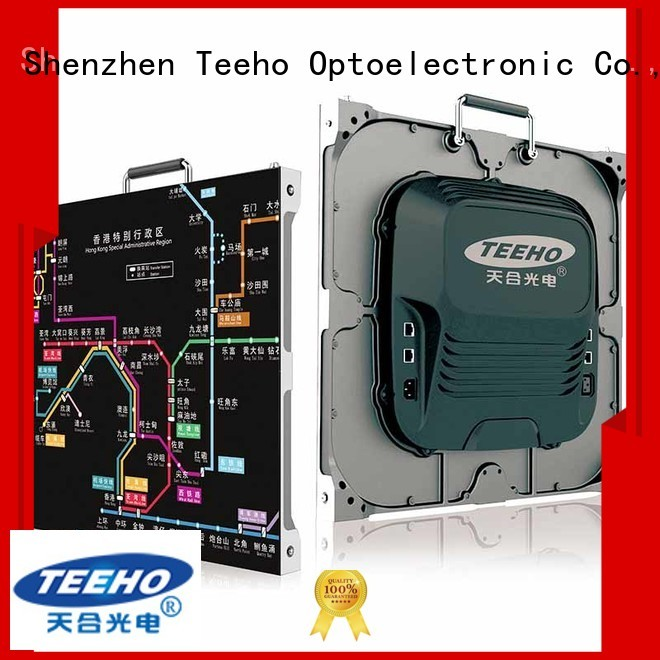 Teeho pixel led free sample for command and dispatch room