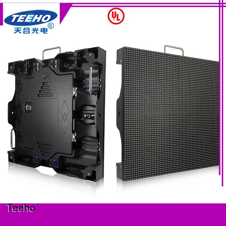 Teeho inexpensive outdoor fixed led display by bulk for company reception room