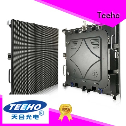 Teeho long lifespan segment led display factory price for conference meeting