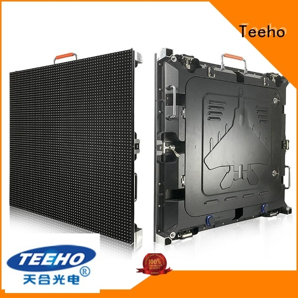Teeho giant led screen marketing for transportation sign