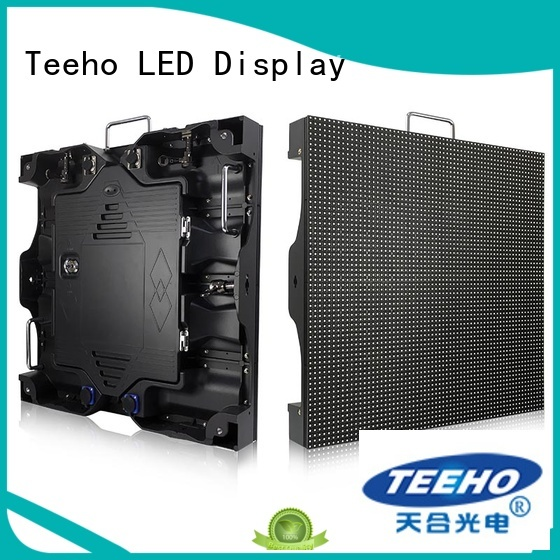 Teeho fixed led video wall by bulk for conference meeting