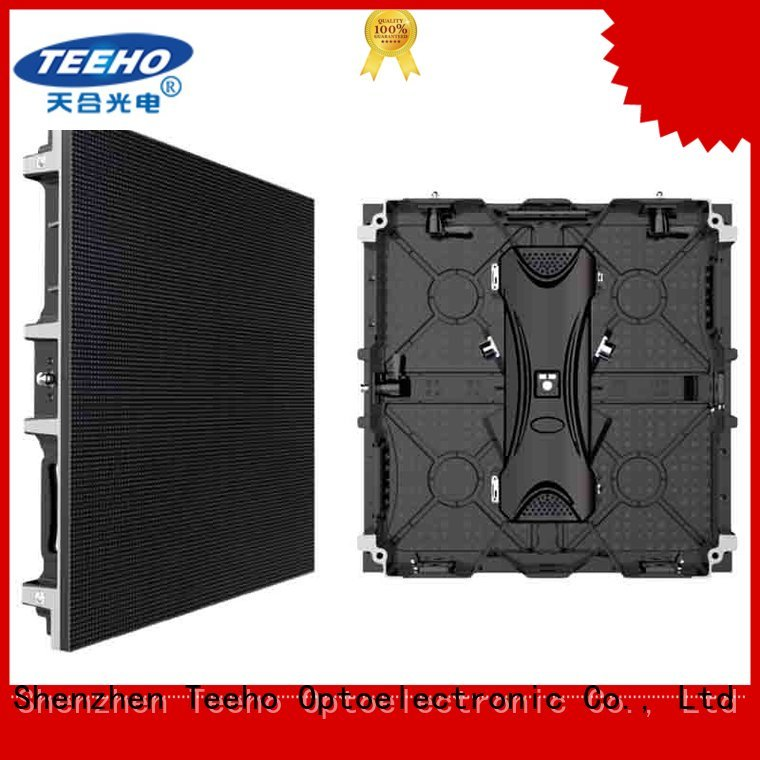 Teeho clear LED poster odm for military control room