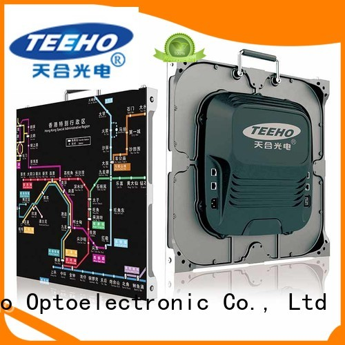 Teeho small pixel pitch led wall for wholesale for airport