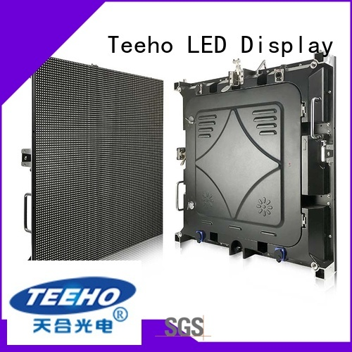 Teeho fixed led screen overseas market for leisure square