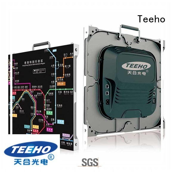 Teeho high quality small pixel pitch led wall oem for conference meeting