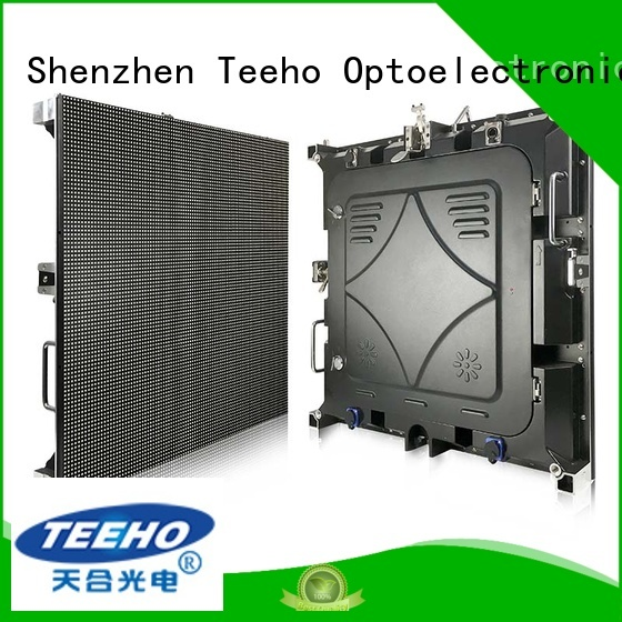 Teeho clear p5 led for wholesale for company reception room