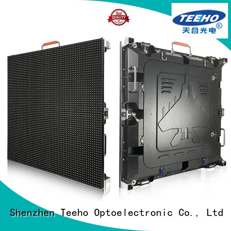 Teeho advanced technology segment led display by bulk for company reception room