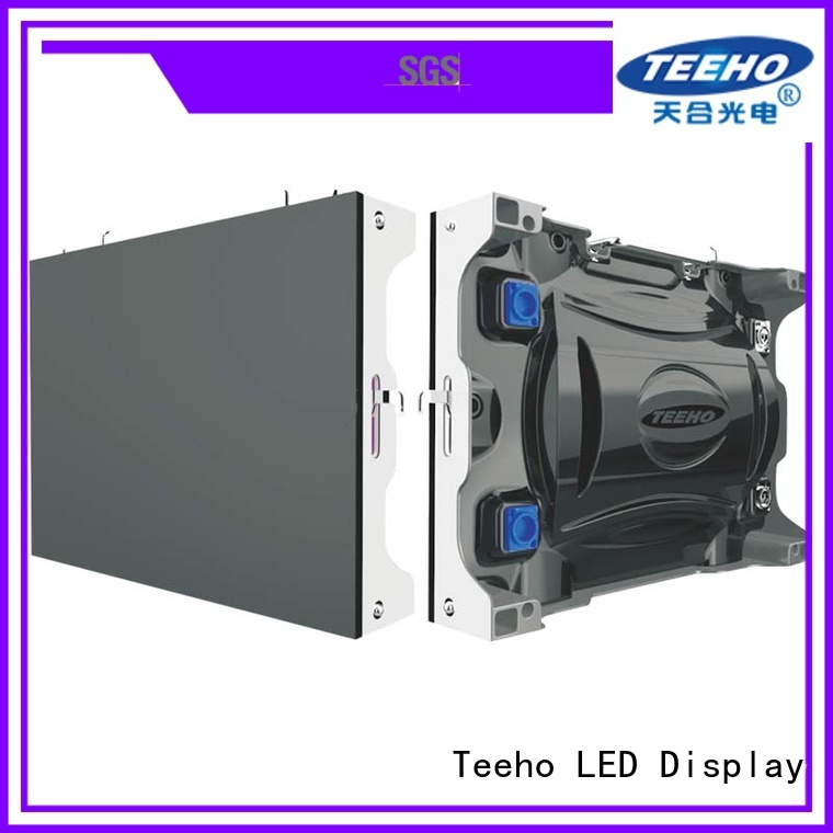 Teeho fashion design small led display bulk production for conference meeting