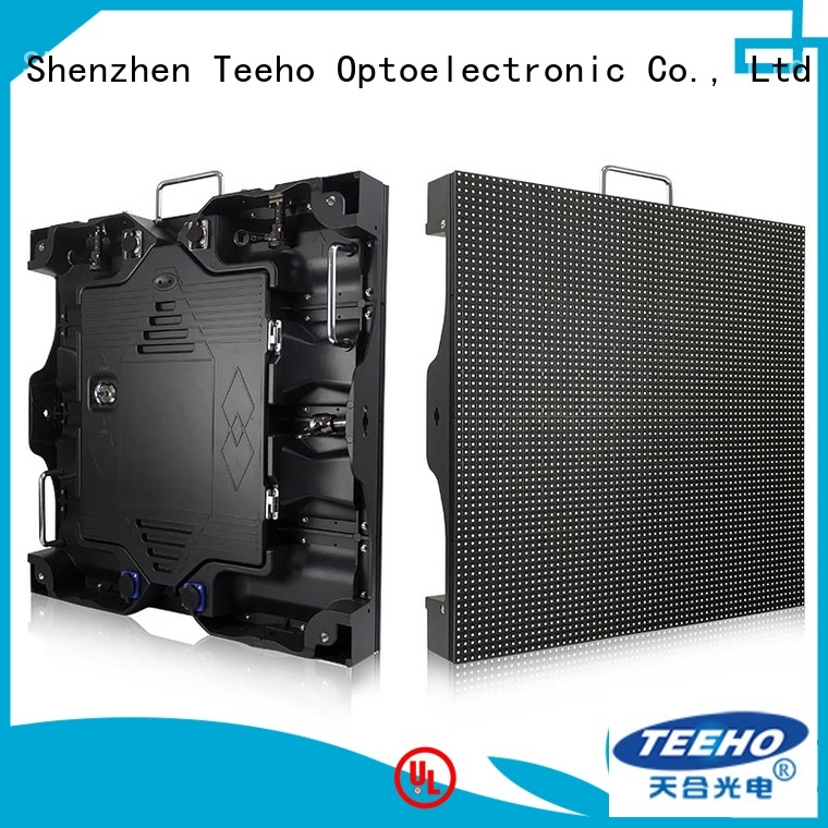 Teeho high quality intdoor fixed led display factory price for leisure square