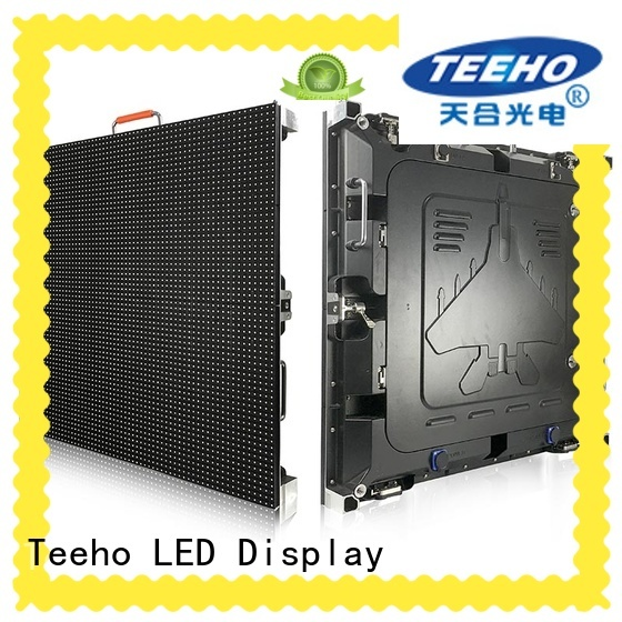 Teeho segment led display marketing for downtown shopping mall