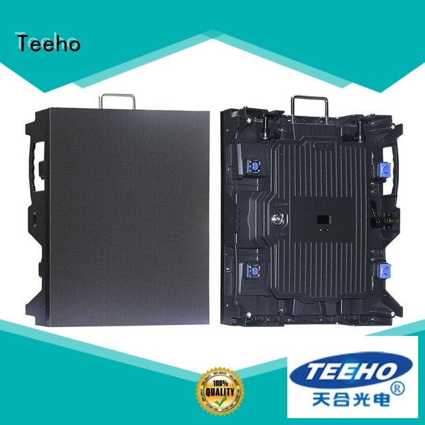 Teeho foldable led screen marketing for conference