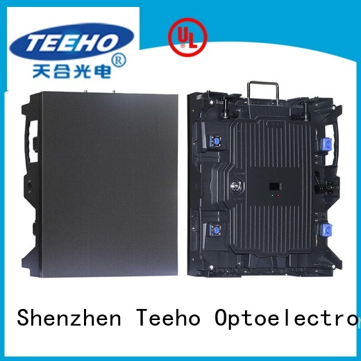 Teeho light led wall overseas market for conference