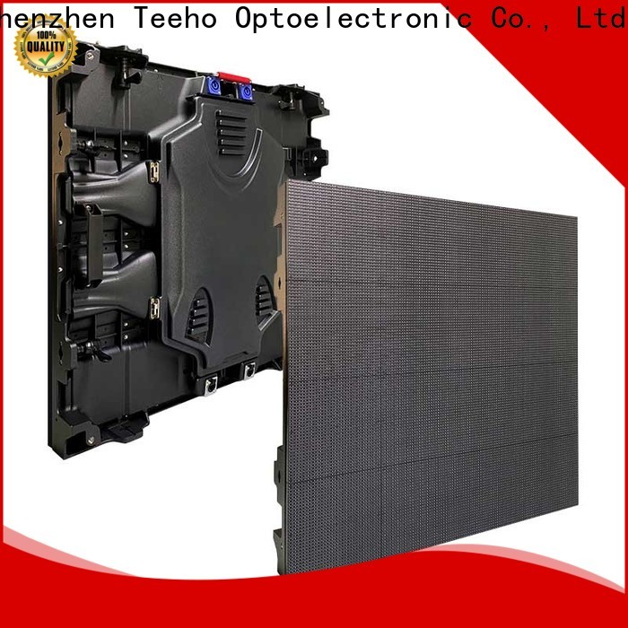 Teeho outdoor fixed led display overseas market for transportation sign