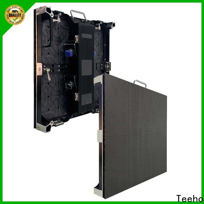 Teeho thin led cabinet bulk production for hotel stage