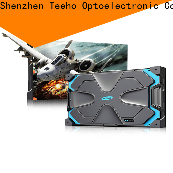 Teeho clear small pixel pitch led wall factory price for command and dispatch room