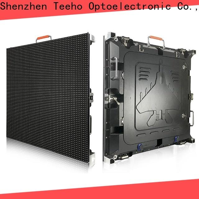 Teeho advanced technology fixed led display marketing for roomhotel hall