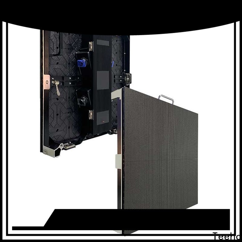 Teeho dismantled foldable led screen bulk production for hotel stage