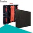 Teeho transported led panel overseas market for exhibition