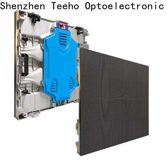 Teeho intdoor fixed led display by bulk for roomhotel hall