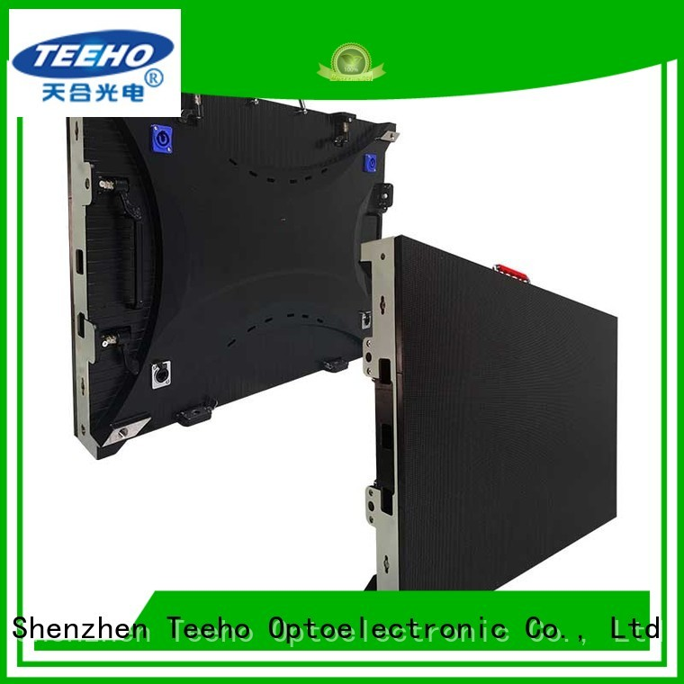 Teeho widely used fixed led screen marketing for downtown shopping mall