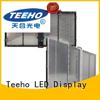 Teeho color realistic Transparent LED Display for wholesale for hotel