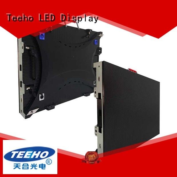 Teeho p5 led factory price for company reception room