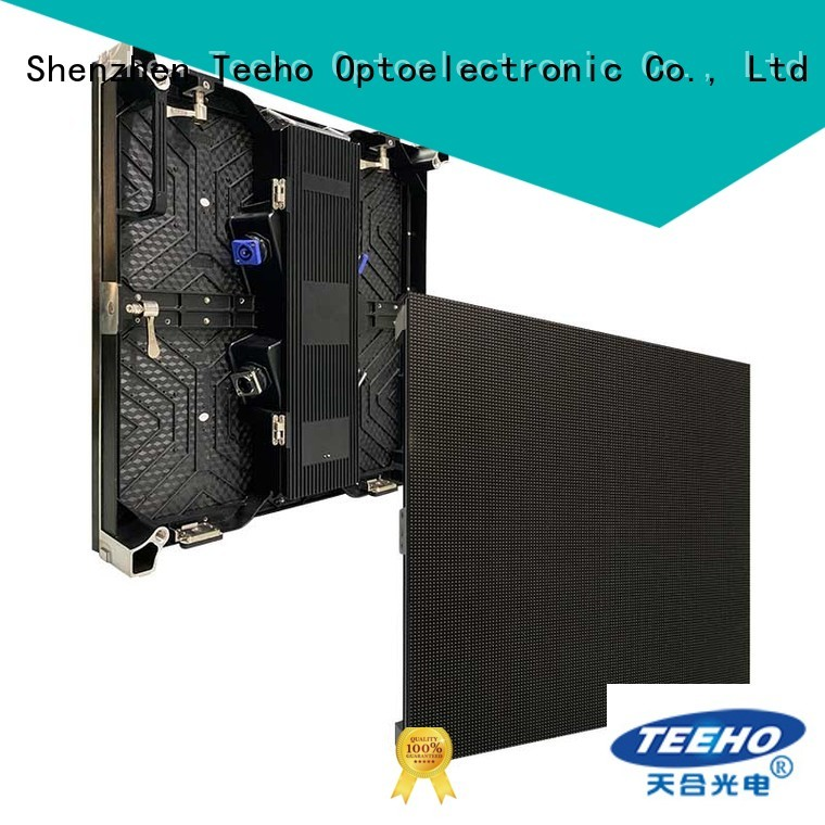 Teeho Rental LED Display overseas market for exhibition