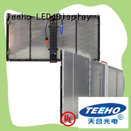Teeho Transparent LED Display by bulk for hotel
